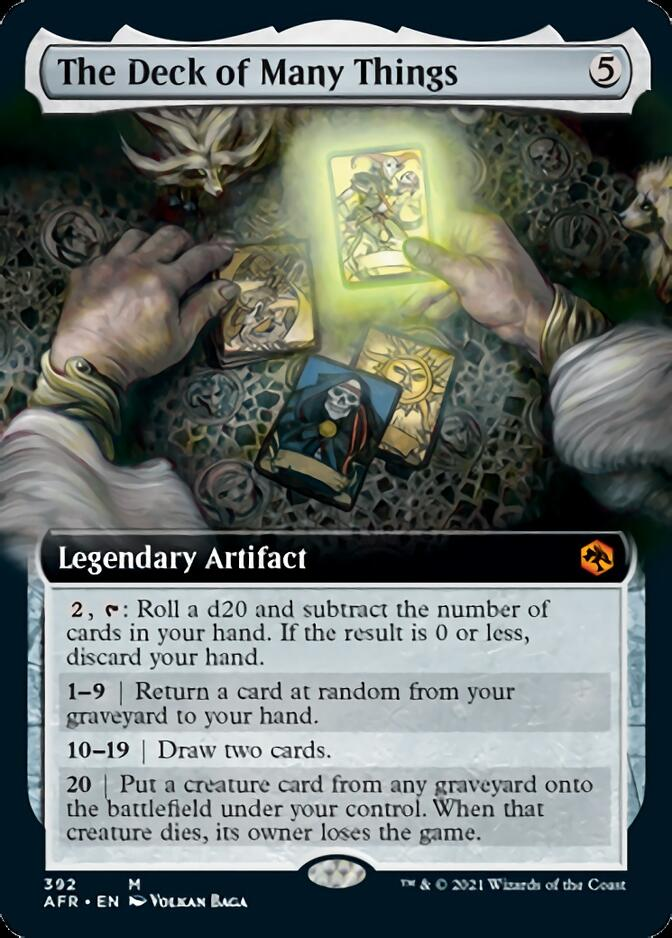 The Deck of Many Things <extended> [AFR]