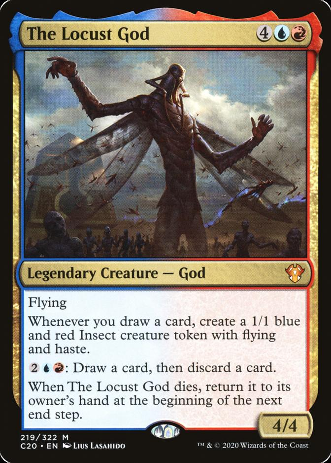 The Locust God [C20]