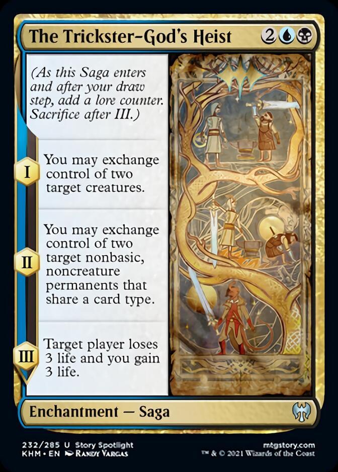 The Trickster-God's Heist [KHM]