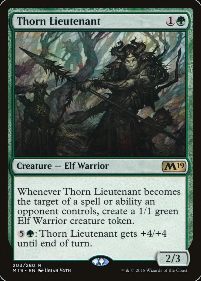 Thorn Lieutenant [M19]