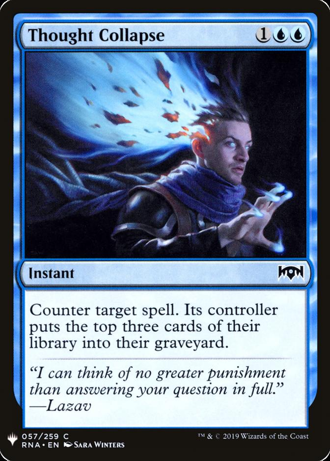 Thought Collapse [MB1]