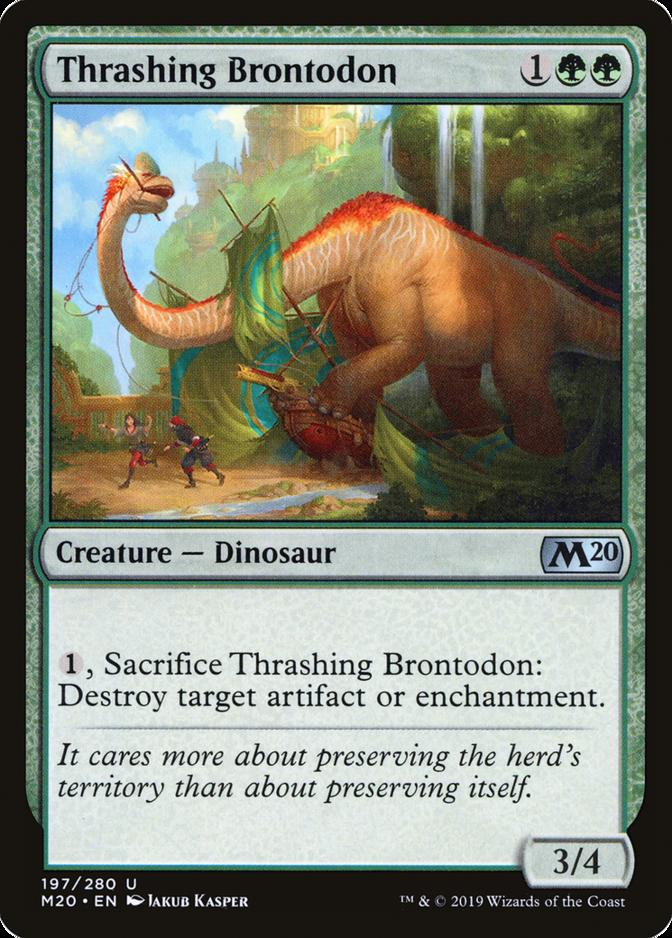 Thrashing Brontodon [M20]