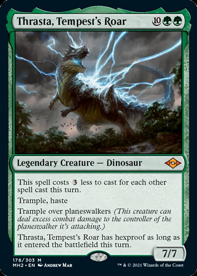 Thrasta, Tempest's Roar [MH2]