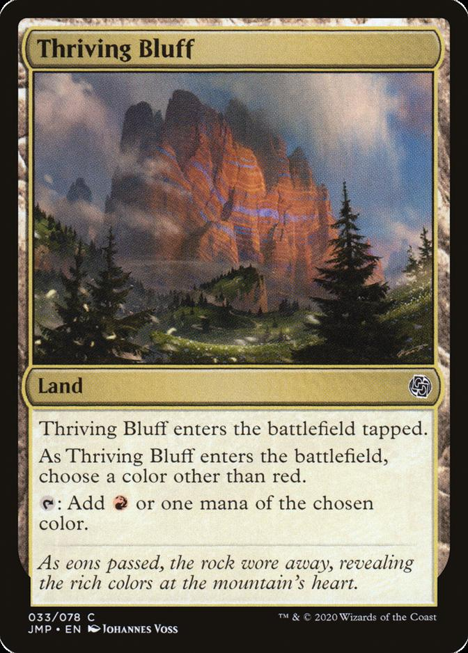 Thriving Bluff [JMP]