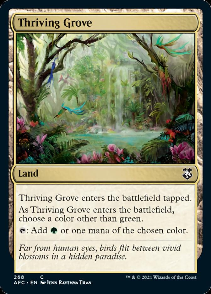 Thriving Grove [AFC]