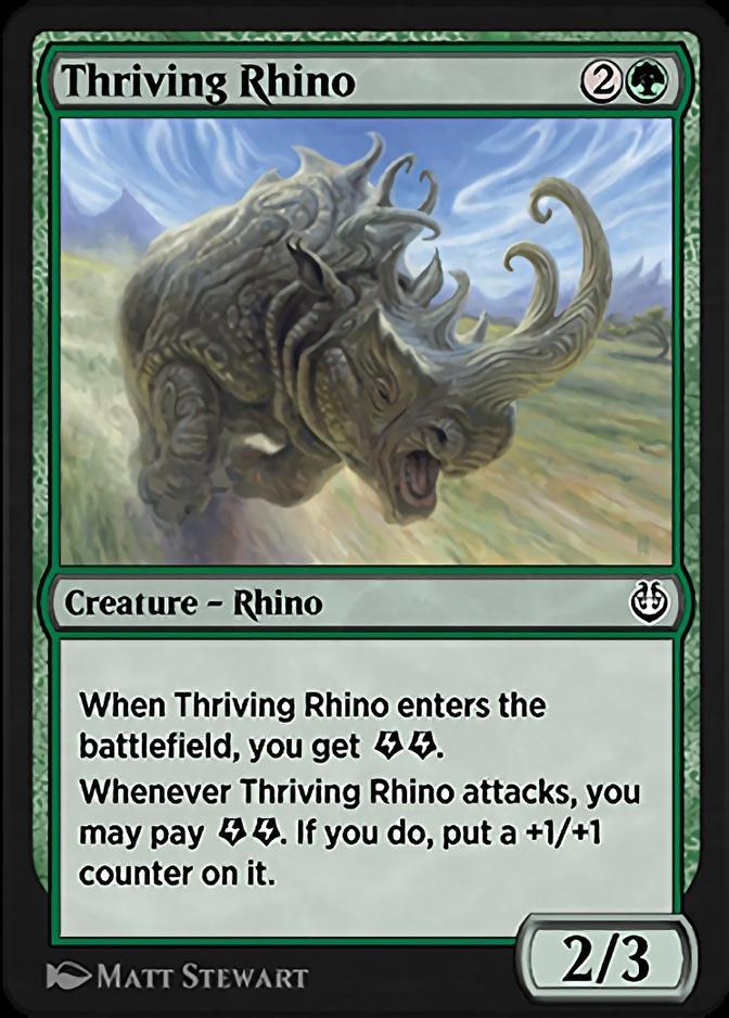 Thriving Rhino [KLR]