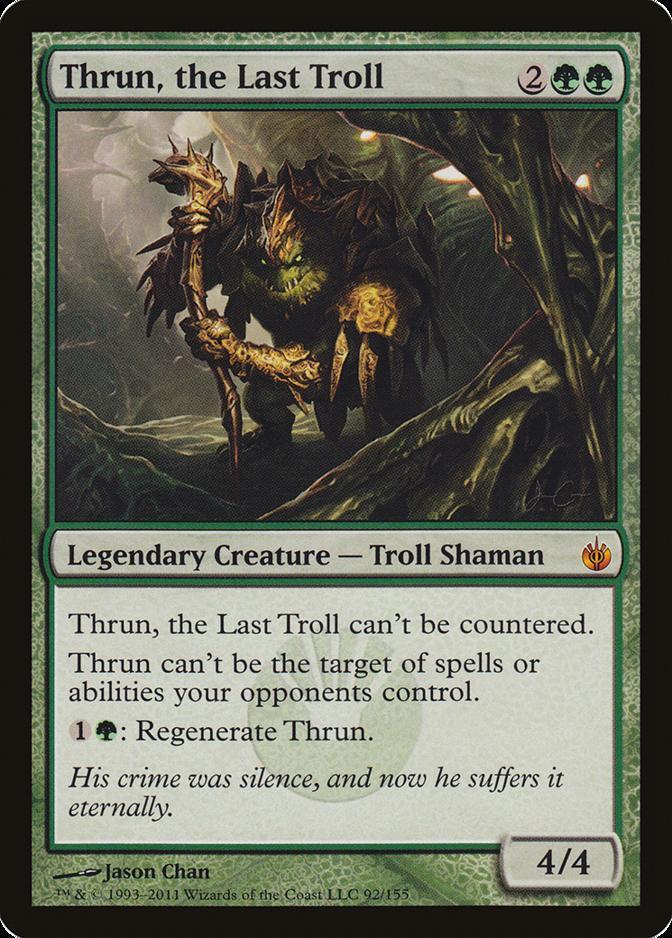 Thrun, the Last Troll [MBS]