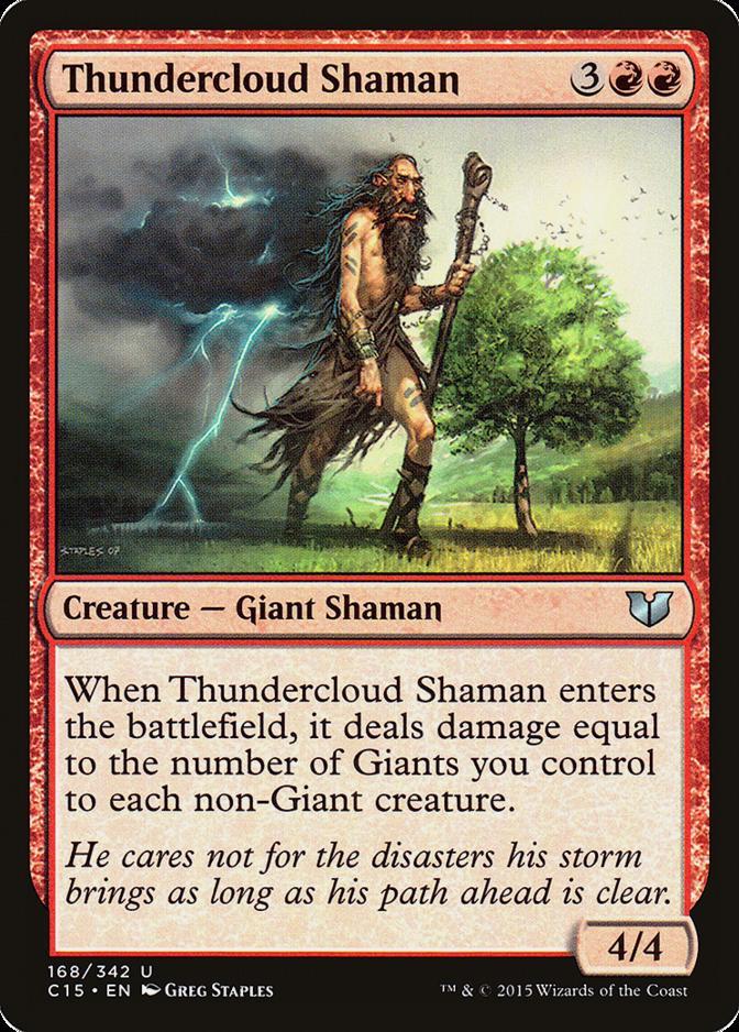 Thundercloud Shaman [C15]