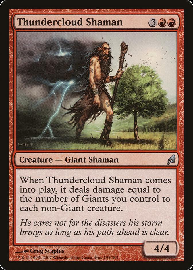 Thundercloud Shaman [LRW]
