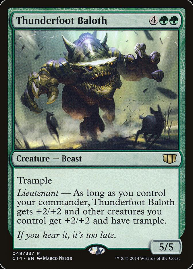 Thunderfoot Baloth [C14]