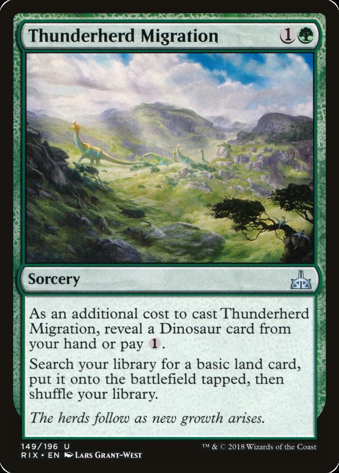 Thunderherd Migration [RIX]
