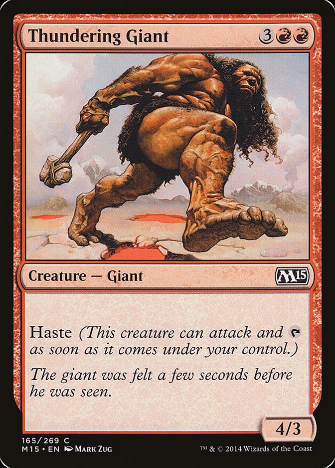 Thundering Giant [M15]
