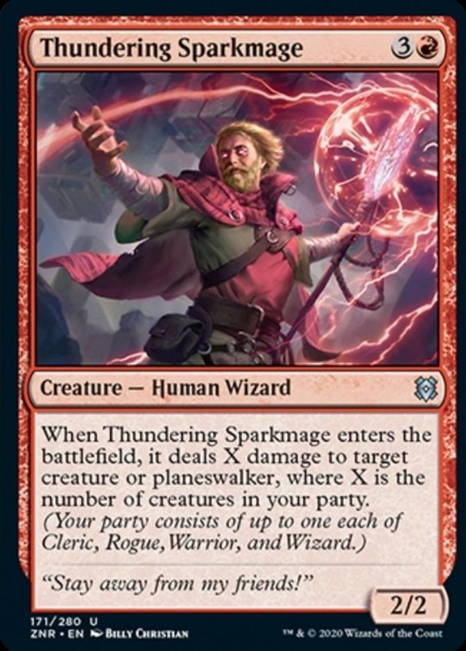 Thundering Sparkmage [ZNR]