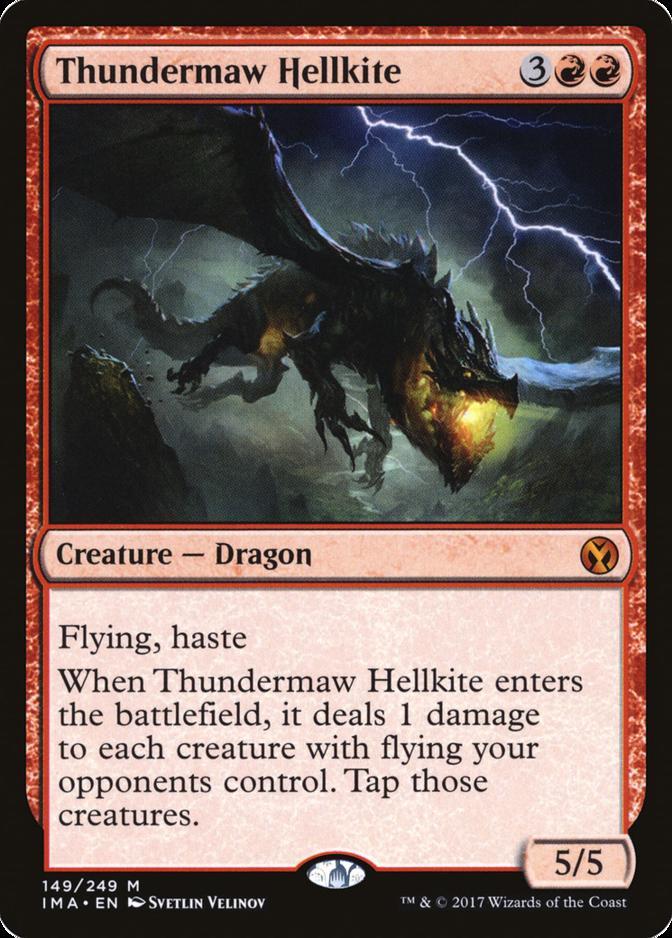 Thundermaw Hellkite [IMA]