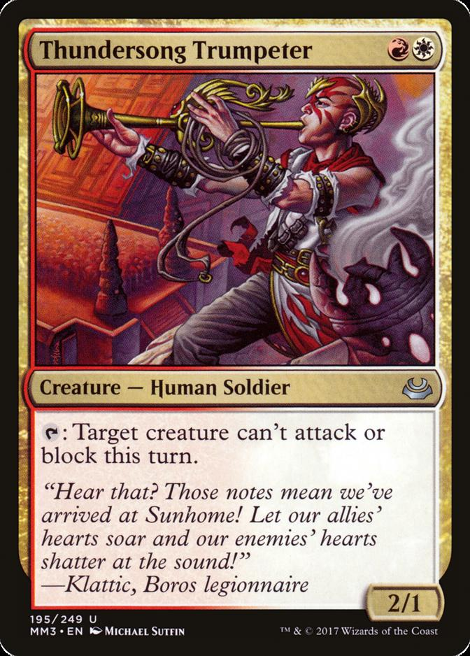 Thundersong Trumpeter [MM3]