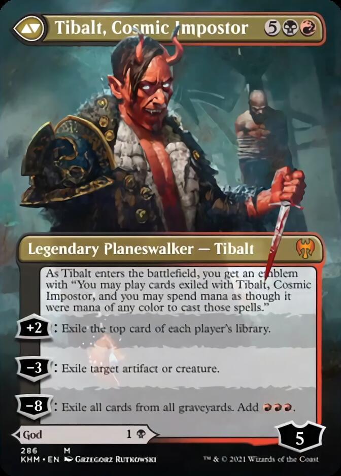 Tibalt, Cosmic Impostor <borderless> [KHM]