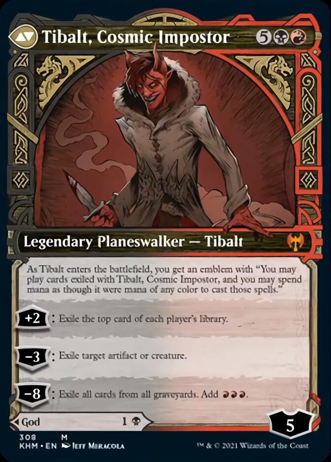 Tibalt, Cosmic Impostor <showcase> [KHM]
