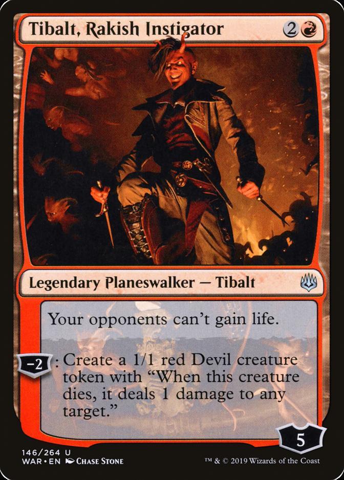 Tibalt, Rakish Instigator [WAR]