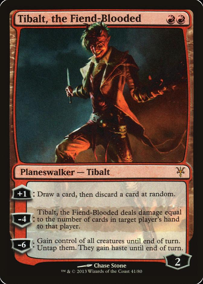 Tibalt, the Fiend-Blooded [DDK] (F)