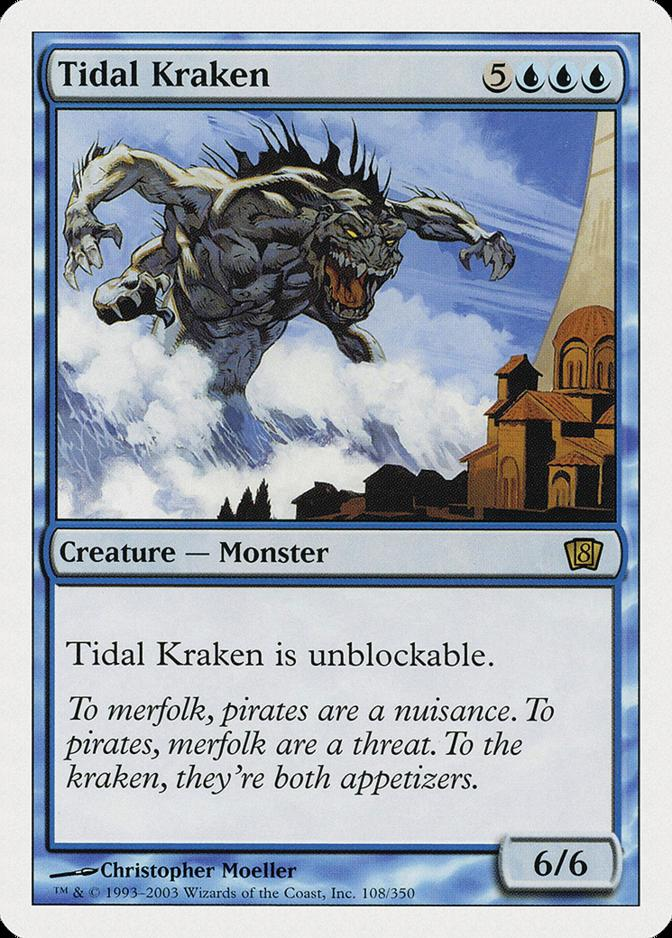 Tidal Kraken [8ED]