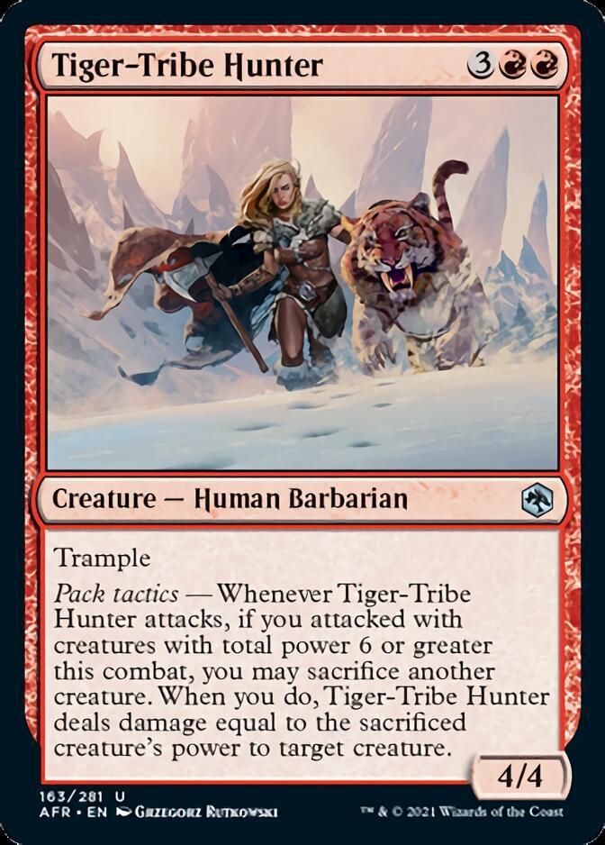 Tiger-Tribe Hunter [AFR]