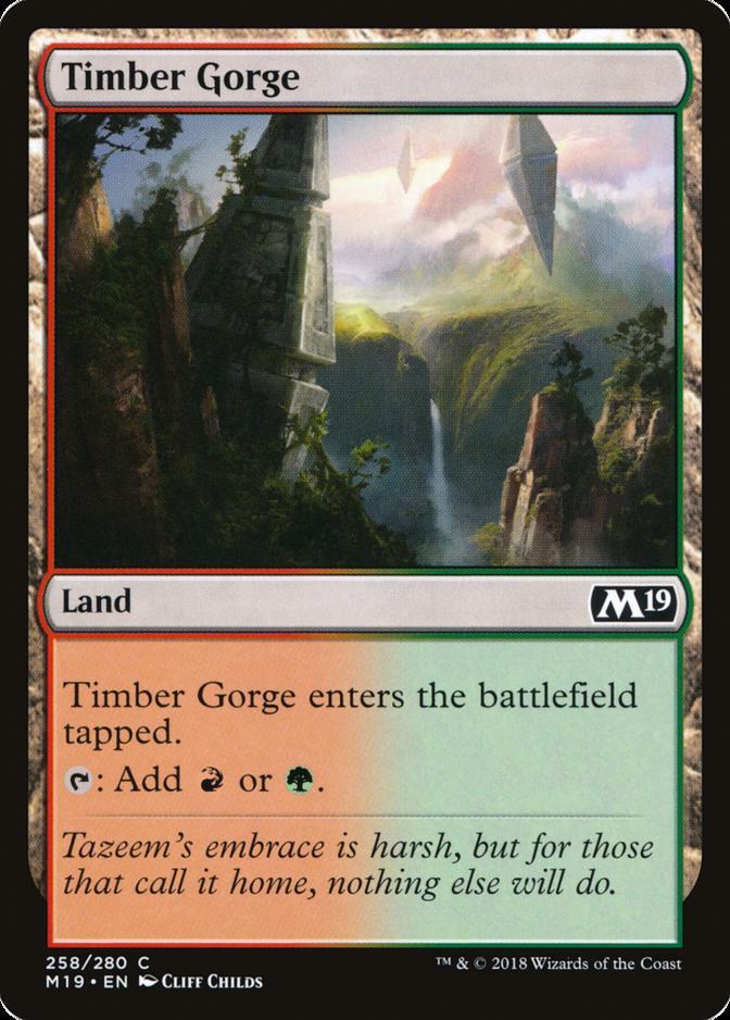 Timber Gorge [M19]
