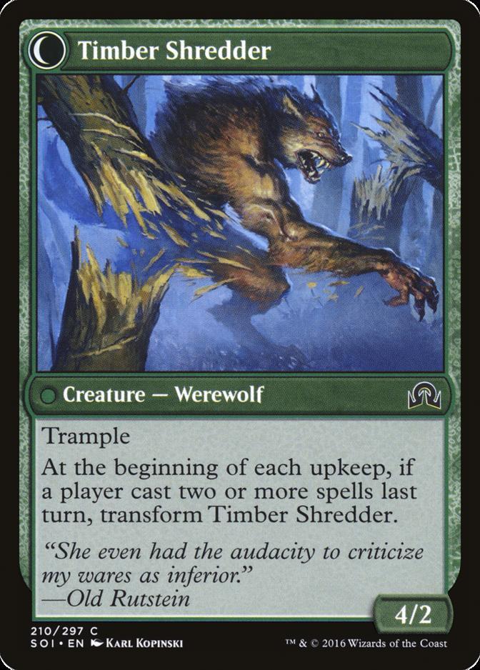 Timber Shredder [SOI]