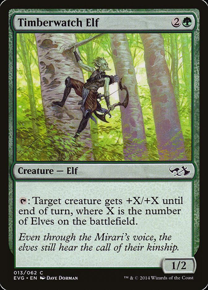 Timberwatch Elf [EVG]