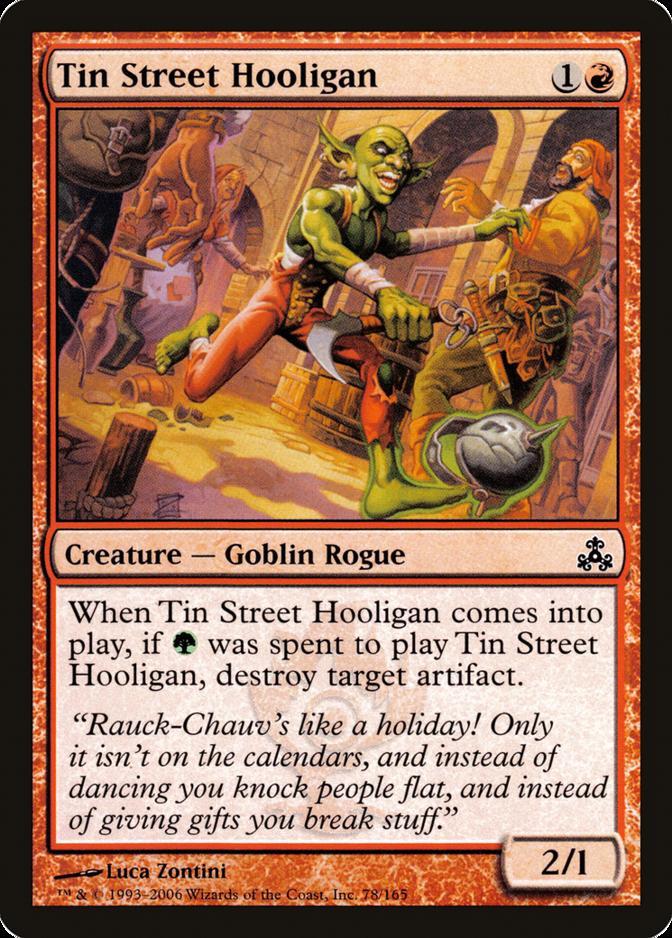 Tin Street Hooligan [GPT] (F)