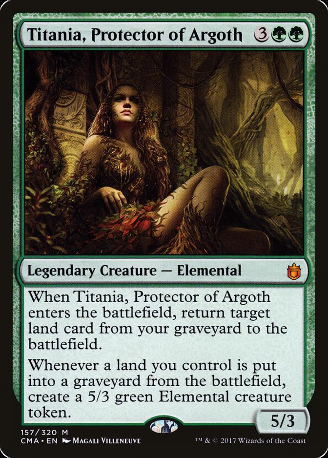 Titania, Protector of Argoth [CMA]