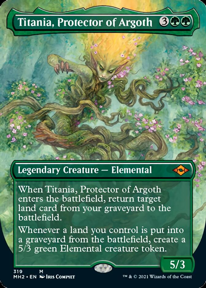 Titania, Protector of Argoth <borderless> [MH2]