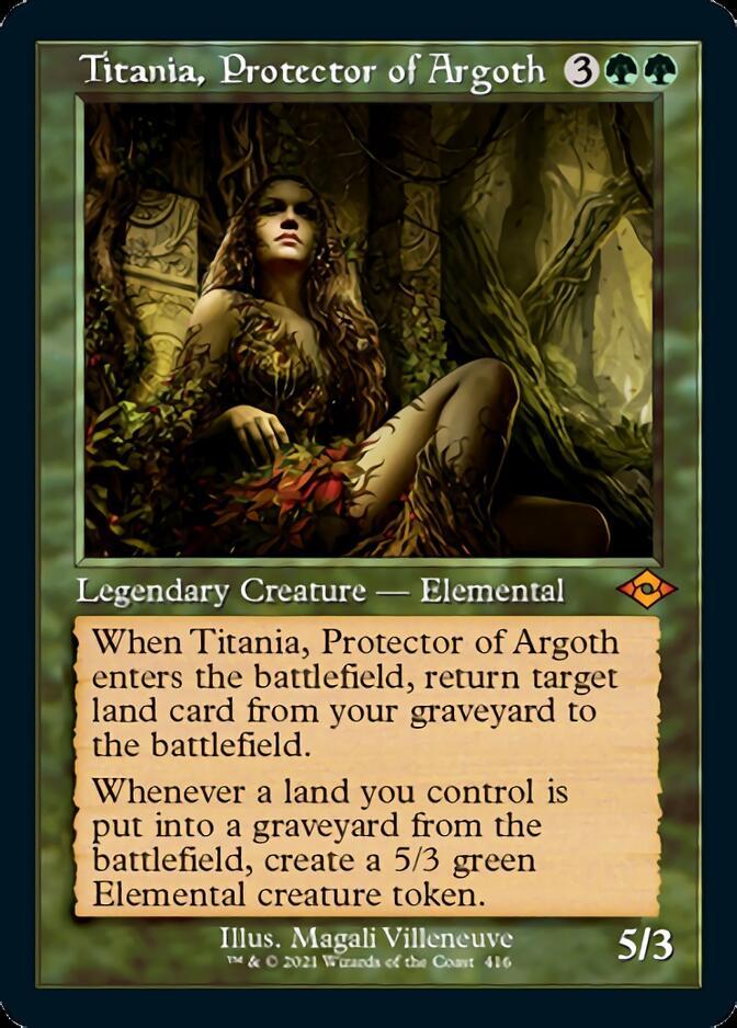 Titania, Protector of Argoth <retro> [MH2]
