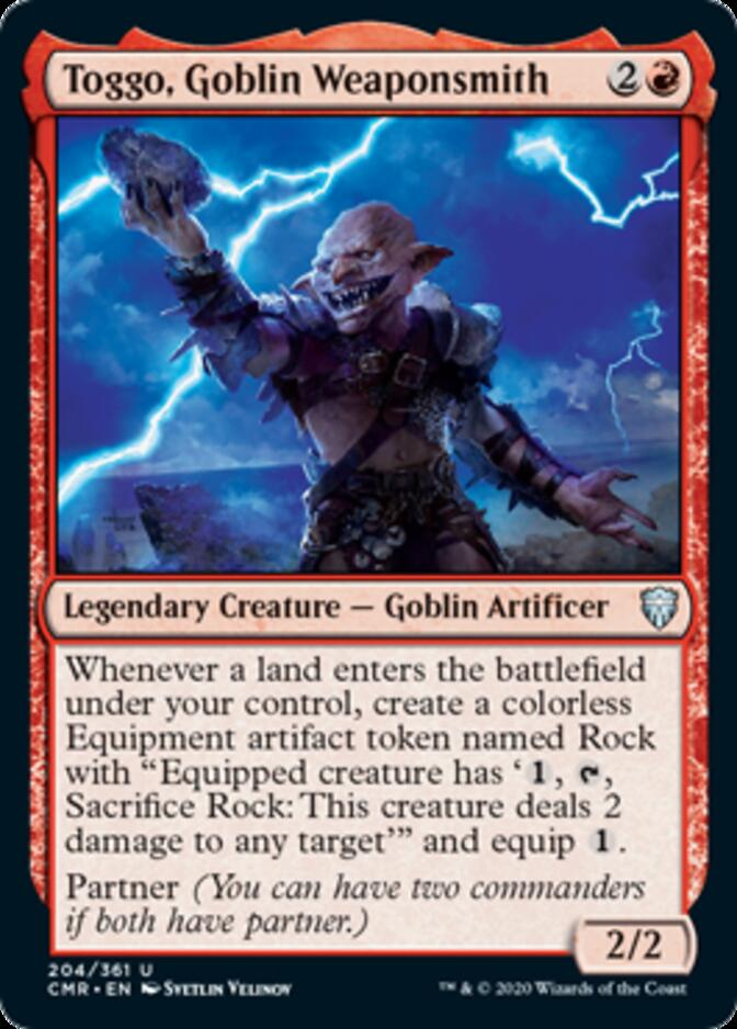 Toggo, Goblin Weaponsmith [CMR]