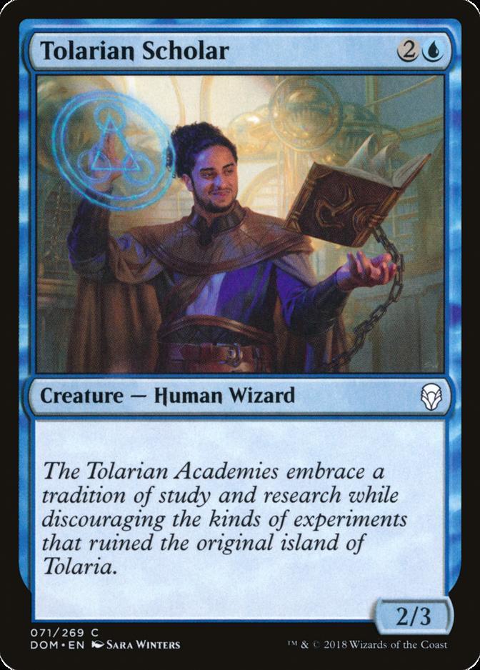 Tolarian Scholar [DOM]
