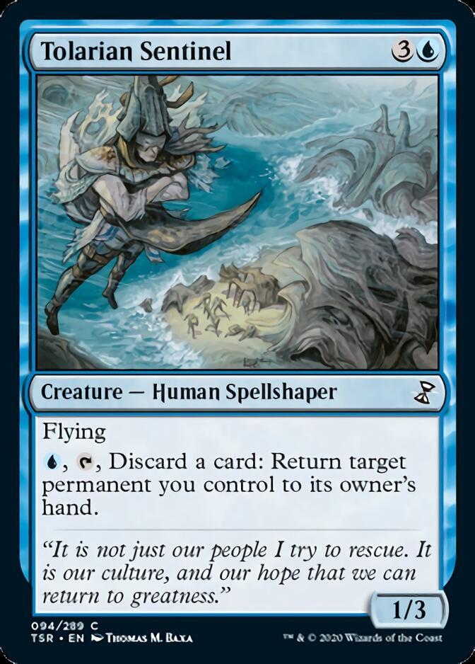 Tolarian Sentinel [TSR]