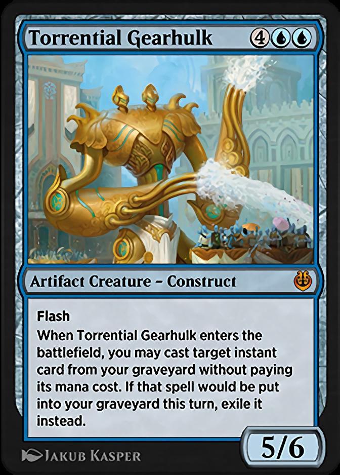 Torrential Gearhulk <masterpiece> [KLR]