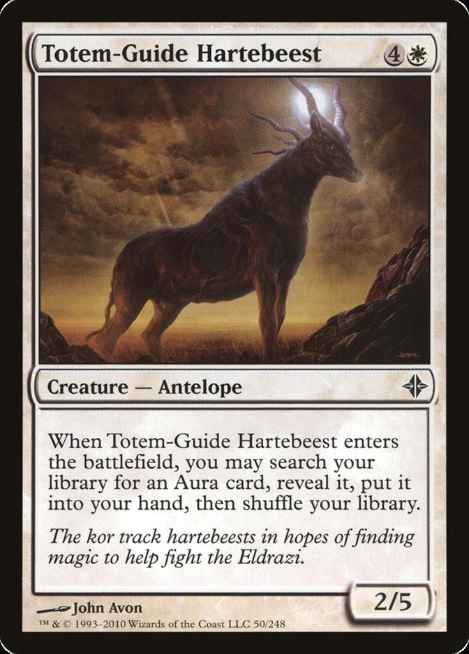 Totem-Guide Hartebeest [ROE] (F)