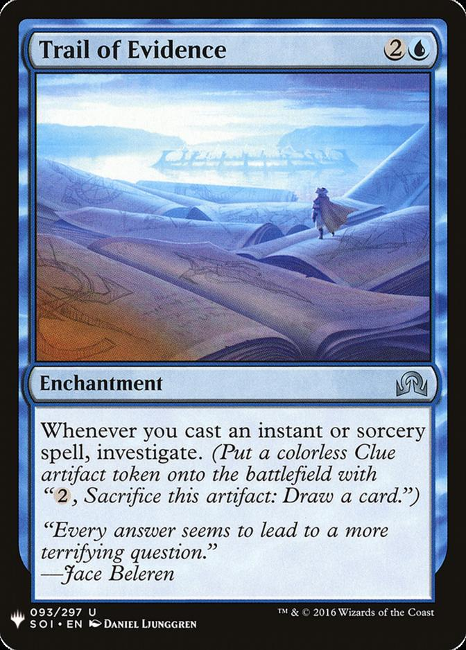 Trail of Evidence [MB1]