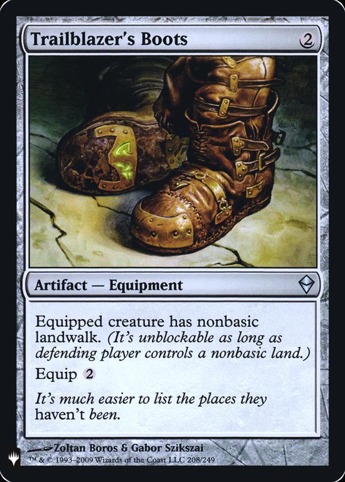 Trailblazer's Boots [FMB1] (F)