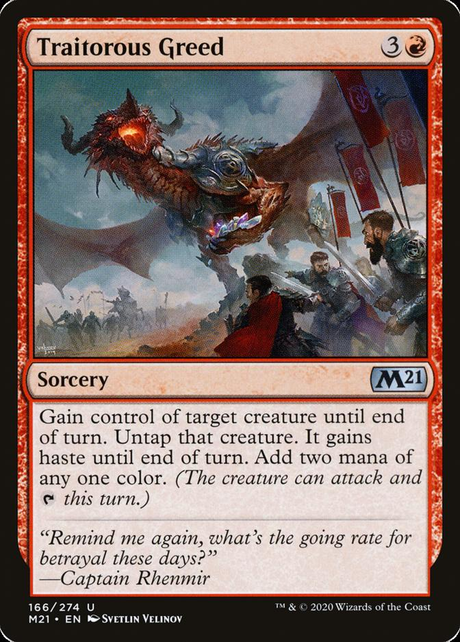 Traitorous Greed [M21]