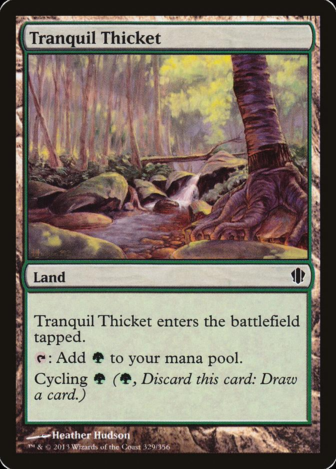 Tranquil Thicket [C13] (F)