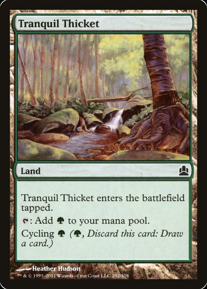 Tranquil Thicket [CMD]