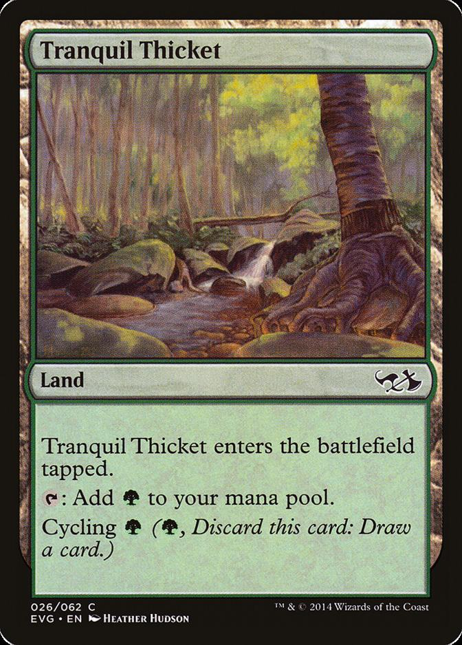 Tranquil Thicket [EVG]