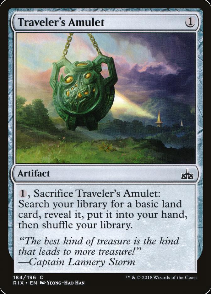 Traveler's Amulet [RIX]