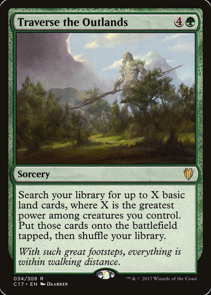 Traverse the Outlands [C17]