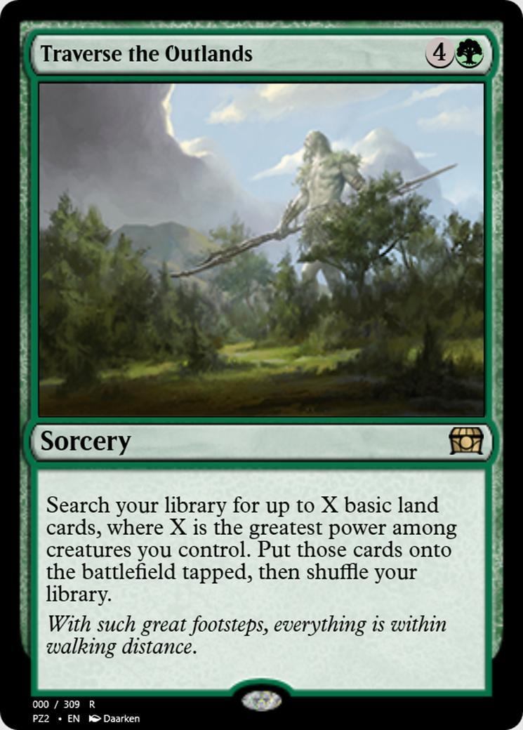 Traverse the Outlands [PZ2]