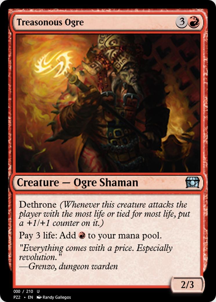 Treasonous Ogre [PZ2]