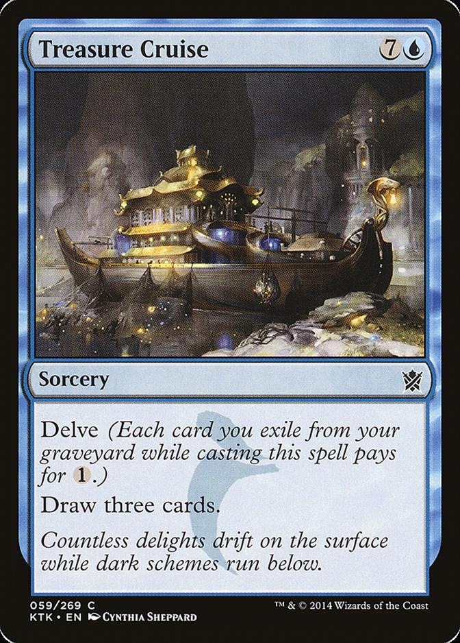 Treasure Cruise [KTK]