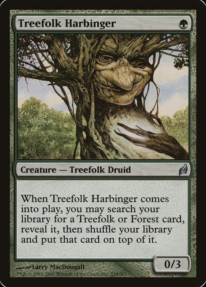 Treefolk Harbinger [LRW]