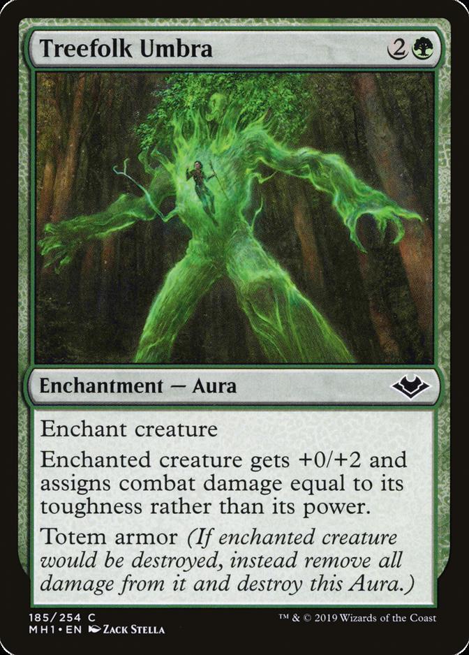Treefolk Umbra [MH1]